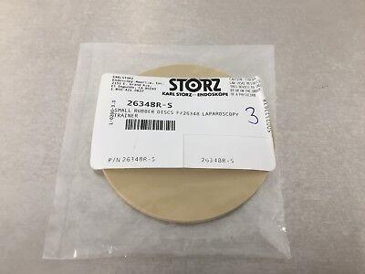 Storz 26348r-s Small Rubber Discs F26384 Laparoscopy Trainer