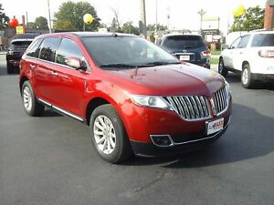 2013 LINCOLN MKX AWD - PANORAMIC SUNROOF, LEATHER HEATED & COOLE