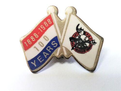 P.A.P. Loyal Order of Moose 100 Years Anniversary Tack Pin Fraternal Order