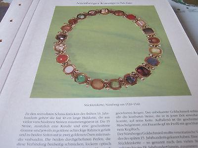 Nürnberg Archiv 3 Kunstgeschichte 3068 Stückleinkette 1530