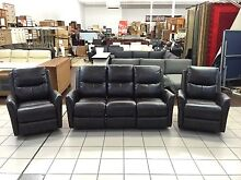 ASHLEY BROWN 3 SEATER ELECTRIC RECLINER + 2 ELECTRIC RECLINERS Logan Central Logan Area Preview