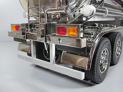 Aluminum Side Rail Guard Protector Tamiya R//C Toy 1//14 Trailer Flatbed Tanker