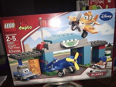 New Duplo Lego 10511 Disney Planes Skippers Flight School Set