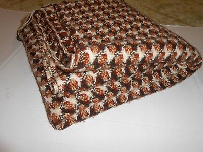 PENDLETON Blanket 100% pure virgin wool stadium throw fringe 53 X 60