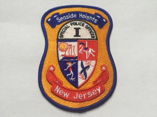 Seaside Heights NEW JERSEY Police Patch