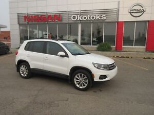 2015 Volkswagen Tiguan S-AWD, HEATED LEATHER, PANORAMIC SUNROOF