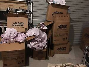 moving boxes medium: books cds and household. mint condition Dianella Stirling Area Preview