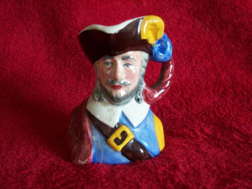 Small Vintage Toby Mug Charles Sylvac Staffordshire Made in England 4466 3x2