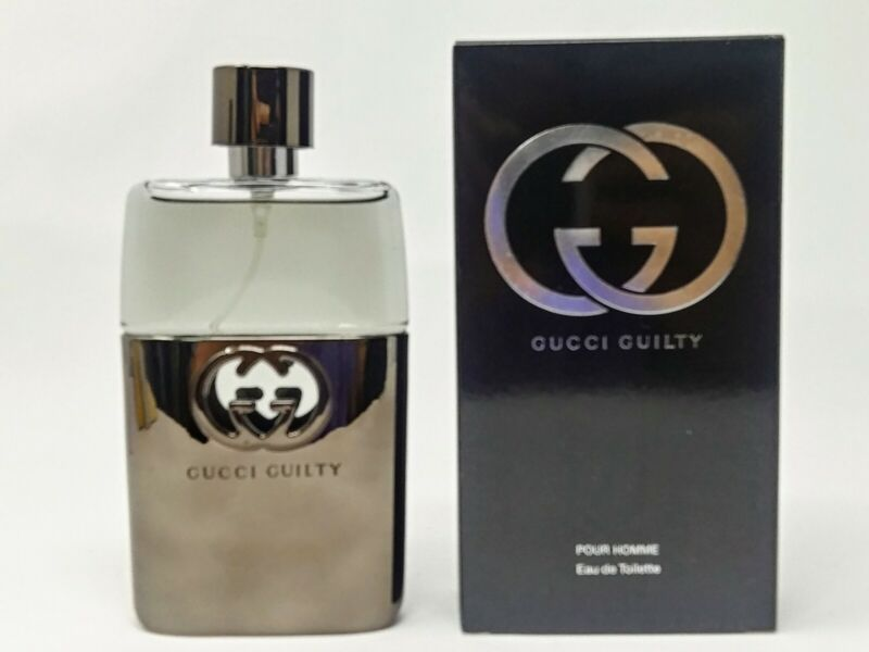 Gucci Guilty Cologne by Gucci, 3 oz EDT Spray for Men NEW In BOX