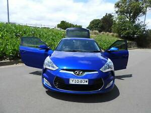 2012 Hyundai Veloster   leather and sunroof auto 1 yr rego wont last Haberfield Ashfield Area Preview