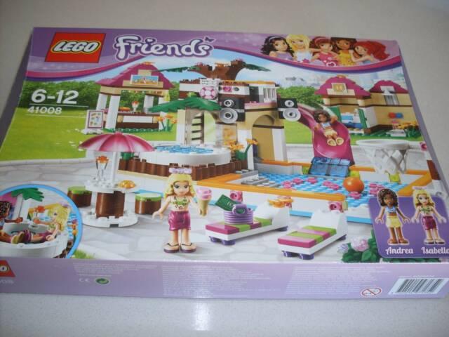 Lego Friends No41008 Heartlake City Pool Exn Toys Indoor