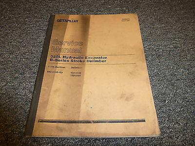 cat 320 excavator service manual