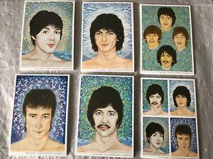 Beatles postcards -60 New And Unused