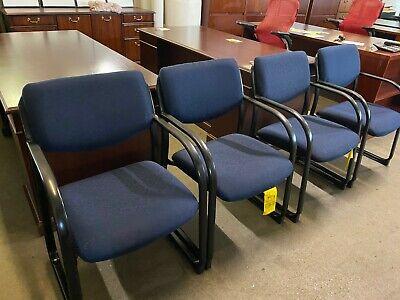 Guestside Sled Base Chair By Regency Office Furniture