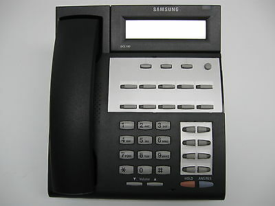 SAMSUNG iDCS 18 BUTTON DISPLAY PHONE FALCON 18D WITH STAND REFURBISHED