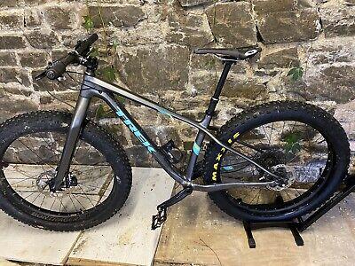 Trek Farley 9.6 Full Carbon Fatbike - Medium - Upgraded + Rockshox Bluto Forks
