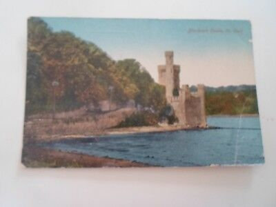 Blackrock Castle, Co Cork Old Postcard Franked & Stamped 1918  §B922