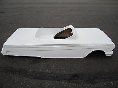 1962 Chevrolet Impala hot rod stroller pedal car fiberglass body lowrider 1963