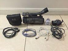 Sony HDR FX-7 prosumer camcorder pack Redfern Inner Sydney Preview