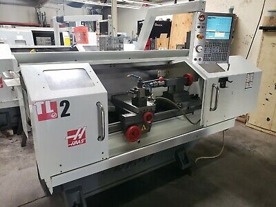 Haas Tl-2 Cnc Flat Bed Lathe Turning Center. Low Hours Loaded 2013
