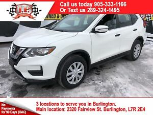 2017 Nissan Rogue S, Automatic, Heated Seats, Back Up Camera, AW