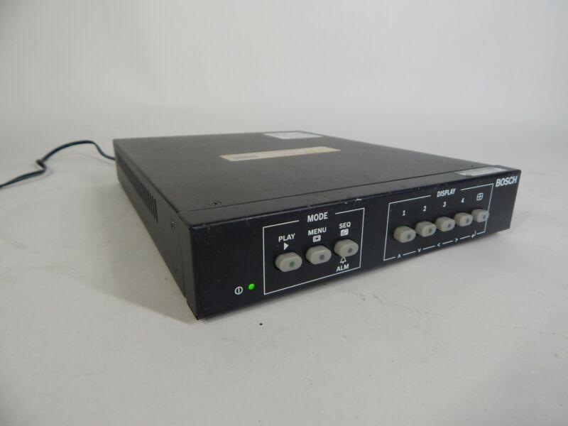 Bosch LTC 2382/90 4-Channel Switch Video Quad