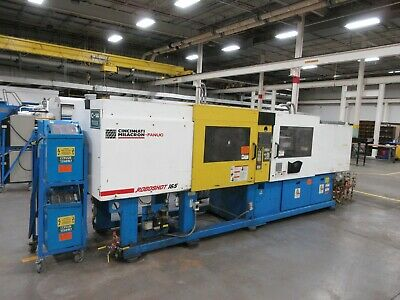 165 Ton Cincinnati Milacron Roboshot Injection Molding Machine Model 1651-114g