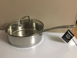 CUISINART 4 QT CHEFS CLASSIC SAUTE PAN WITH COVER