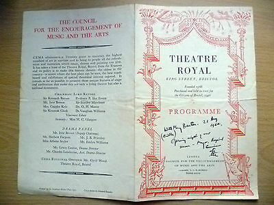 Theatre Royal Bristol, Programme 1942- YOU NEVER CAN TELL by G. Bernard Shaw