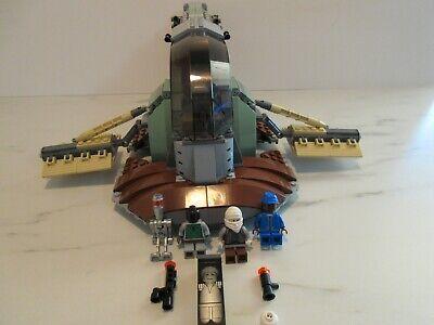Lego Star Wars Set 6209 Slave 1 Incomplete Missing Helmet