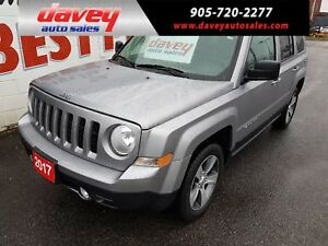 2017 Jeep Patriot Sport/North 4X4, SUNROOF, LEATHER INTERIOR