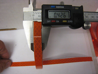 3m Dark Orange Reflective  Conspicuity Tape .42 Appx. 716 X 50 Ft