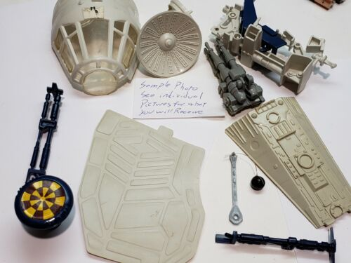 Choose Millennium Falcon Vintage Parts Star Wars Canopy Cannon Radar Ramp 1979