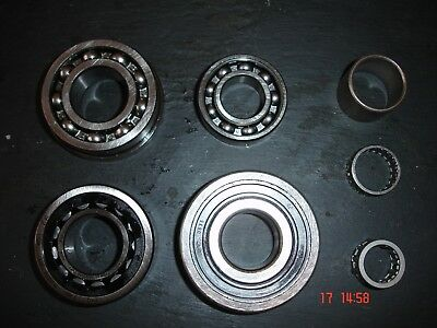 *Top quality* Complete Lambretta GP engine bearing set FAG & INA rollers TS1 RB