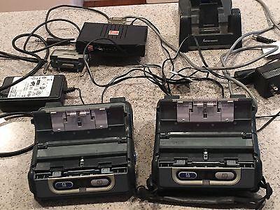 2 Intermec Pb 42 Bluetooth Printers