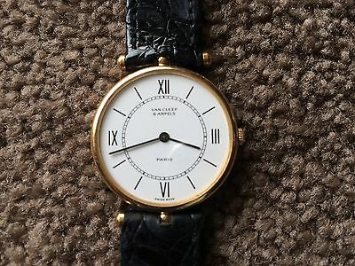 VINTAGE VAN CLEEF & ARPELS 18k WATCH NON WORKING CONDITION