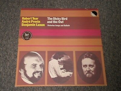 Robert Tear~Andre Previn~Benjamin Luxon~The Dicky Bird and the Owl~UK IMPORT