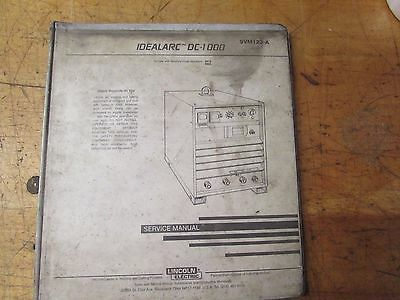 Lincoln Electric Welder Idealarc Dc-1000 Service Manual