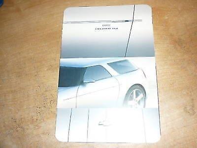 Chevrolet Nomad Concept Car (2004 CHEVROLET NOMAD CONCEPT CAR INTRODUCTION PRESS KIT)