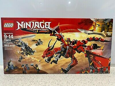 LEGO Ninjago Masters of Spinjitzu Firstbourne Kit - 70653 New, Sealed NIB