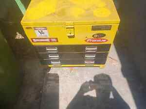 large yellow tool box with draws Redland Bay Redland Area Preview
