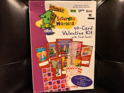 Paper magic group Disney 1 Saturday morning 40 valentines w/treat sacks