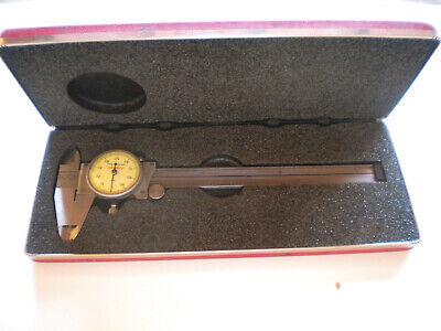 Starrett Dial Caliper 120z Edp 55951 And Hard Case In Box Usa