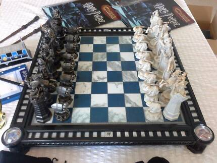 harry potter chess set u0026 extras