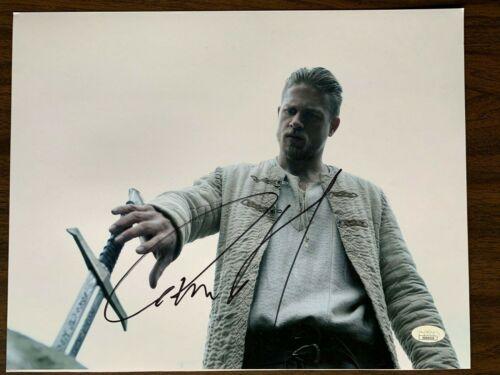 King Arthur Charlie Hunnam Autographed Signed 11x14 Photo JSA COA