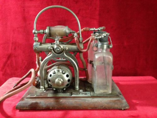 Antique Medical Embalming Pump Machine 1920s C.M. Sorensen Co.