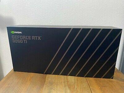 NVIDIA GeForce RTX 3060 Ti Founders Edition - NEU - OVP