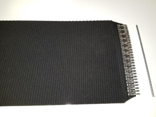 """7"""" x 420.5"""" New Holland Round Baler Belts 3 Ply Mini Roughtop w/ MATO Lacing"""