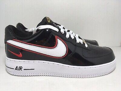 Nike iD Air Force 1 Low x Nigel Sylvester Black BQ3626-992 Men's Shoes Size 10
