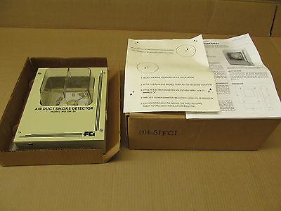 1 Nib Fci Dh-51 Dh51 Air Duct Smoke Detector Housing